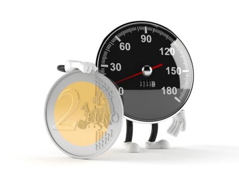 Reloj con euro
